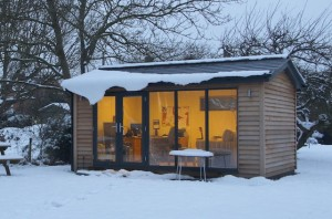 Winter Holidays in your Garden Office