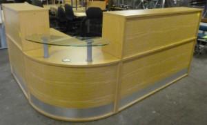 Oak MFC Reception Counter