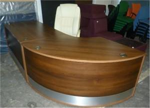 Walnut Reception Counter
