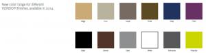new colour ranges by VonDom 2014