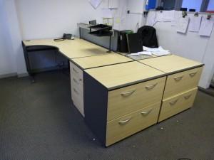 The Qudos range of desks and storage