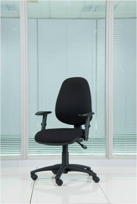 Petite Ergonomics Chair - ACT1 Petite ergonomic chair, moulded radial back rest with coccyx cut out performance memory foam seat, independent seat and back rest angle seat slide, inflatable lumbar, body weight tension control, ratchet back height adjustment, gas lift height adjustment, heavy duty 3 lever independent mechanism height adjustable and fold back arms, 5 star base with 60mm castors, upholstered in advantage or Omega Plus fabric. Optimal weight load 23 stone / 150kg £240.00 +vat