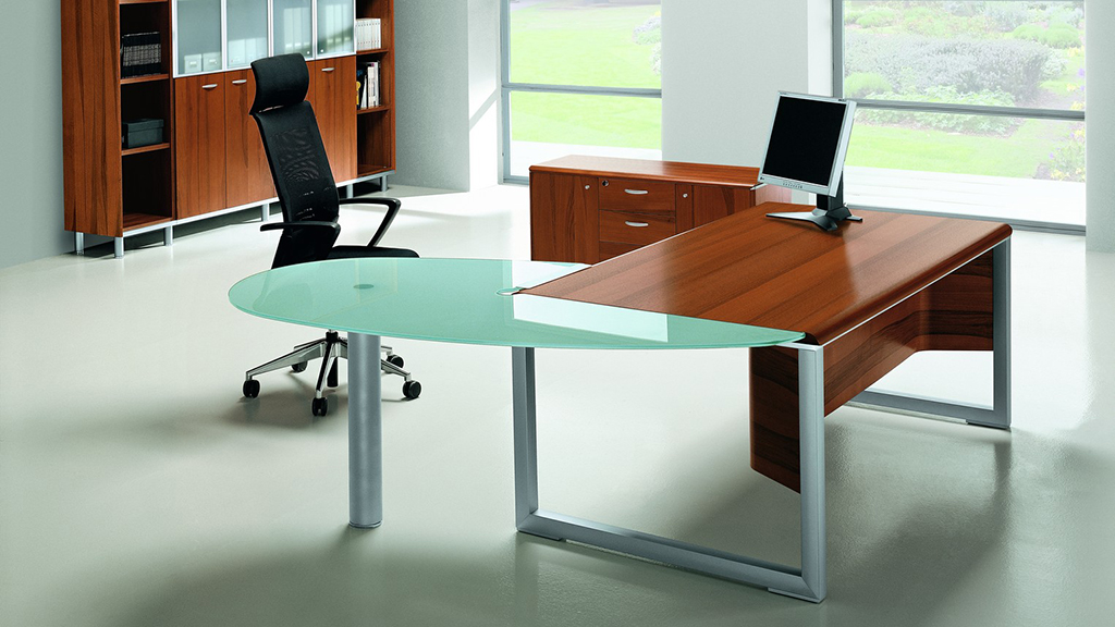 Quadrifoglio Zeta Desk - Executive Desks - Office Desks