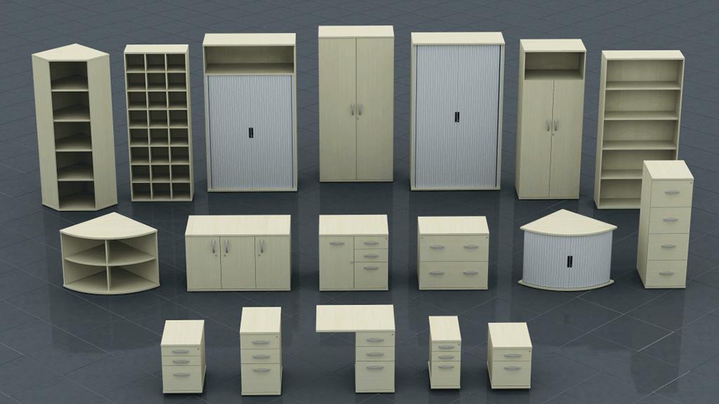 Storage - Wood Storage - Office Storage