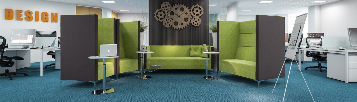 Huddle - Office Seating - Seating Booths