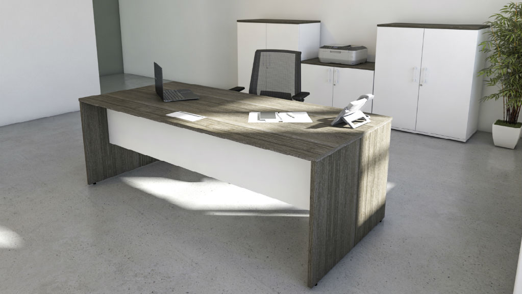 Rectangular Executive Desk - Executive Desks - Office Desks