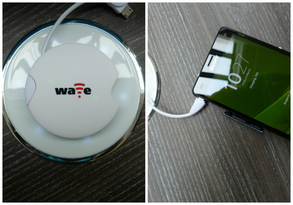 Wave wireless collage