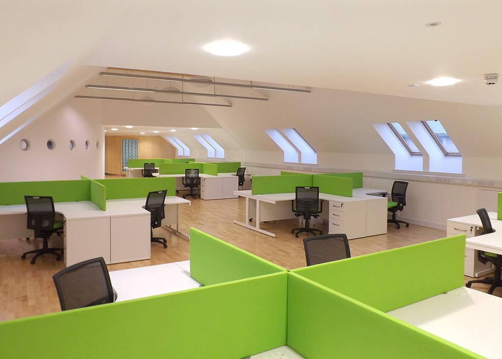 BBC Alba - Office Desks - Office Furniture
