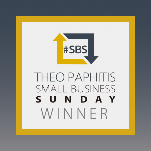 Theo Paphitis Small Business Sunday Winner 2014