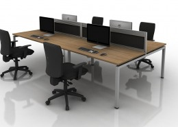 iBench Desk - Bench Desks - Office Desks - Contemporary Desks
