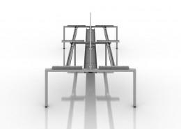 iBench Desk - Bench Desks - Office Desks - Contemporary Desks