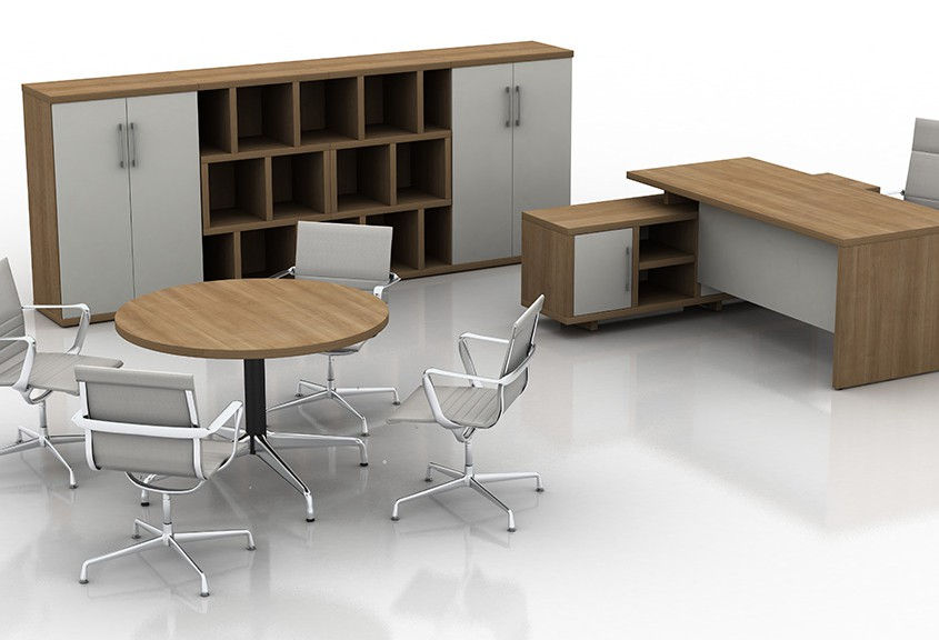 Santiago cherry cirrus executive office - Executive Desks - Office Desks - Contemporary Desks