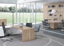 T45 quadrifoglio executive desk - Executive Desks - Office Desks - Contemporary Desks