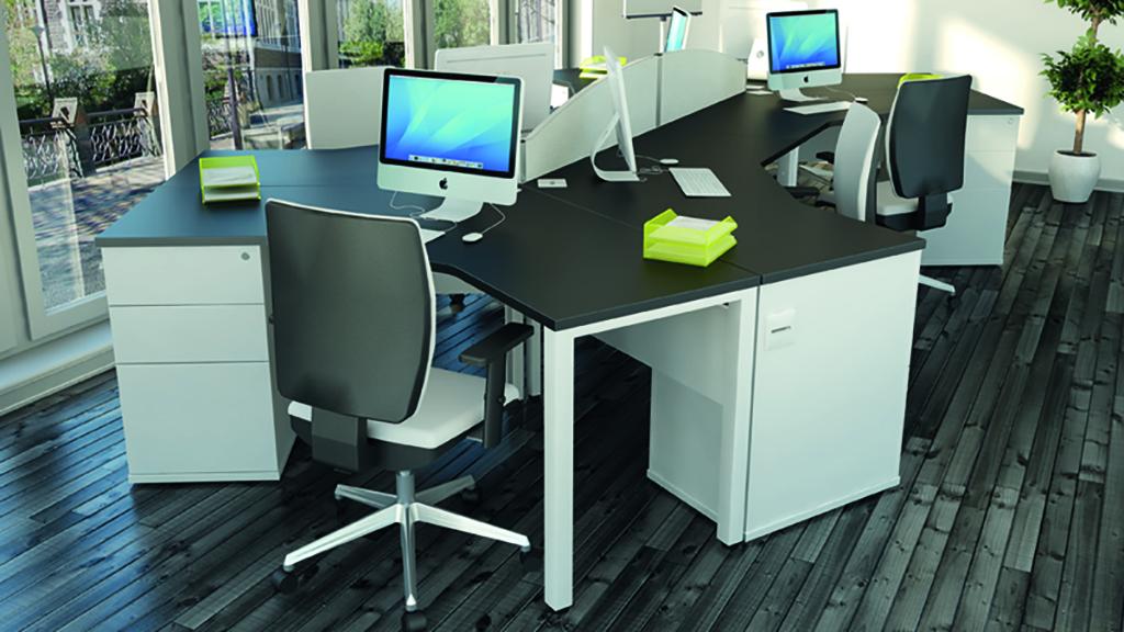 Pure Desk - Office Desks - Contemporary Desks - Bench Desks