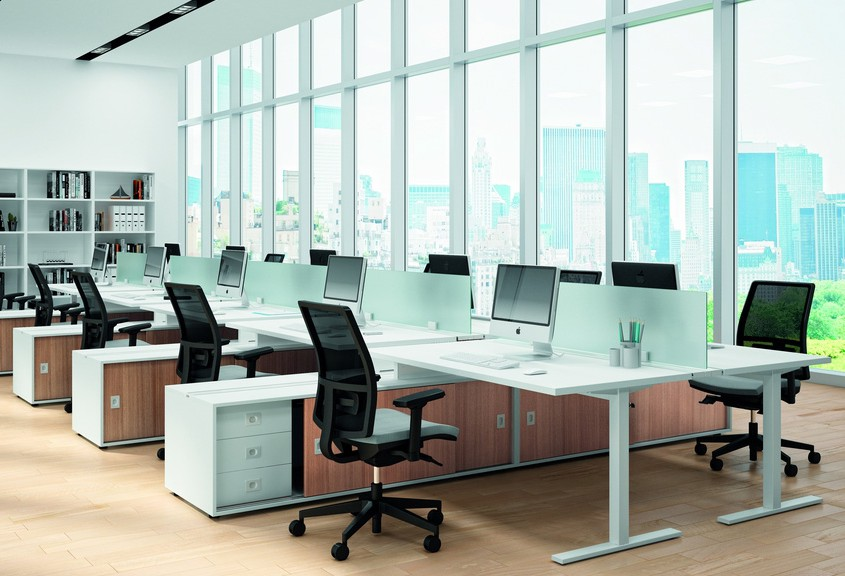 idea office furniture. Quadrifoglio Desk - Office Desks Contemporary Bench Idea Furniture