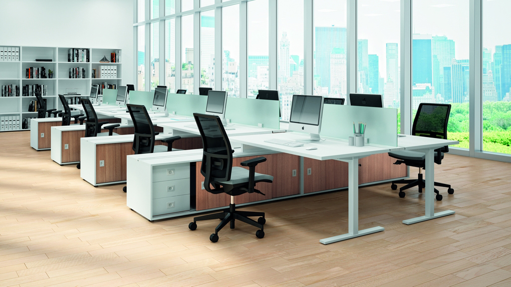 Quadrifoglio Desk - Office Desks - Contemporary Desks - Bench Desks