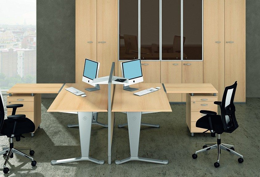 Quadrifoglio Mega Desk - Office Desks - Office Furniture