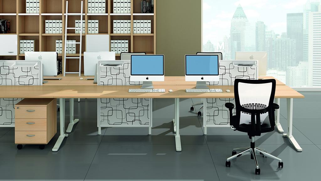 Quadrifoglio Mega Desk Office Desks Furniture