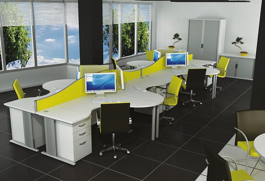 Qudos Desk - Office Desks - Office Furniture