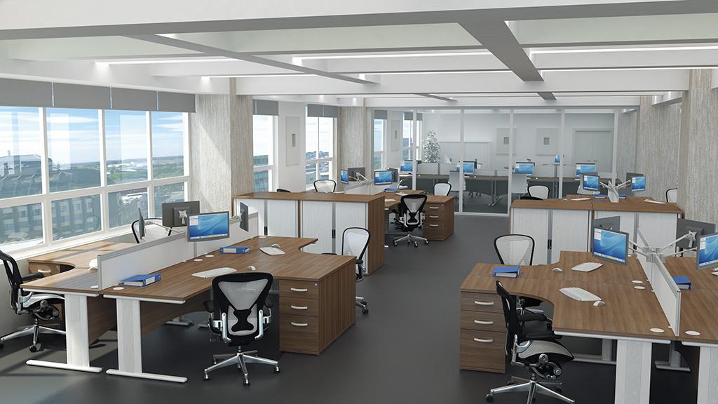 Qudos Desk Office Desks Furniture