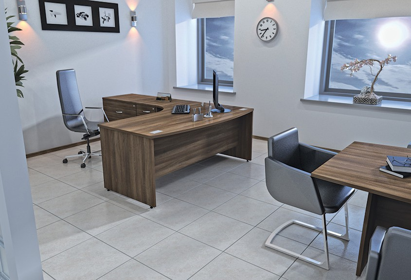 Sirius Desk - Office Desks - Office Furniture