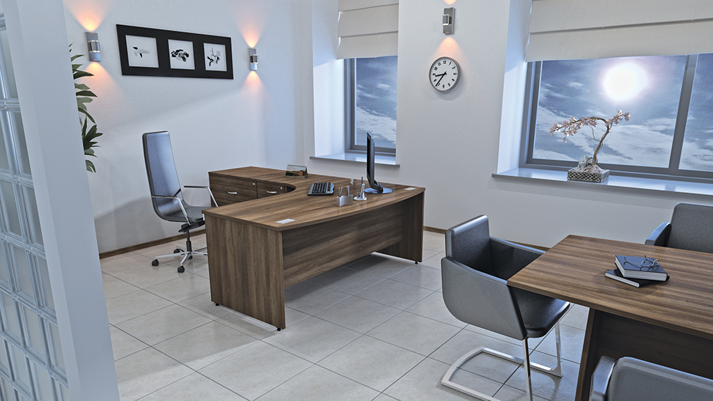 Sirius Desk - Office Desks - Contemporary Desks - Bench Desks