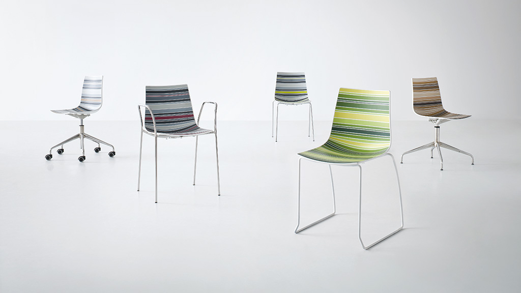 Colourfive Chair - Bistro Chair - Breakout Furniture