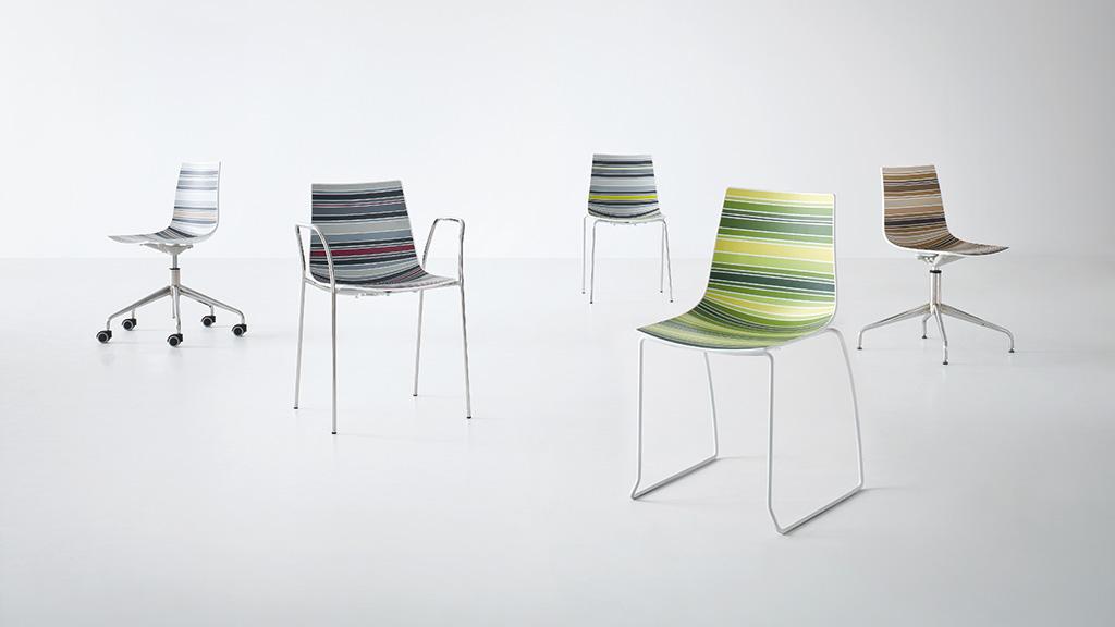 Colourfive Chair - Bistro Chair - Breakout Furniture