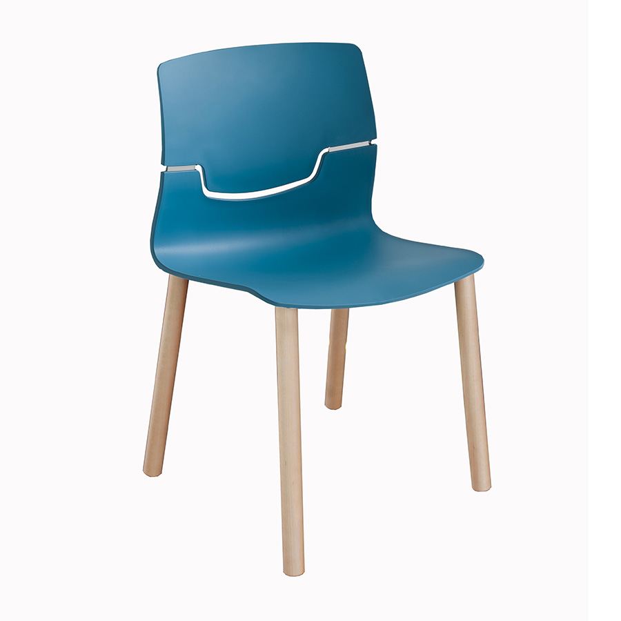 Slot Chair - Bistro Chair - Breakout Furniture
