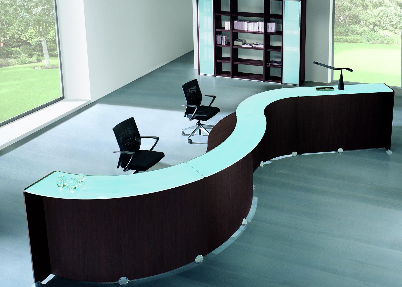 Quarifoglio Reception Desk - Reception Desks - Reception Furniture