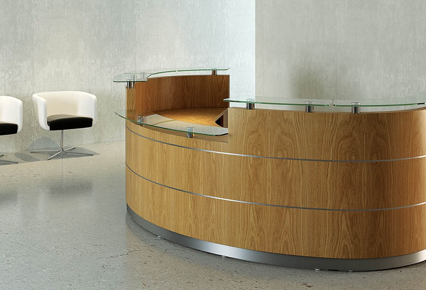 Tula Reception Counter - Reception Desks - Reception Furniture