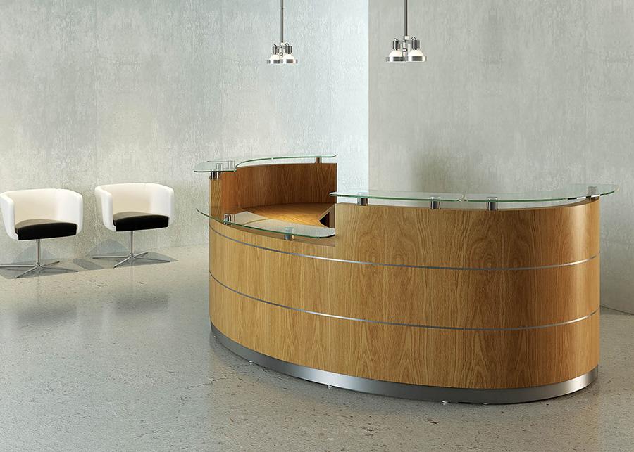 Tula Reception Desk - Reception Desks - Reception Furniture