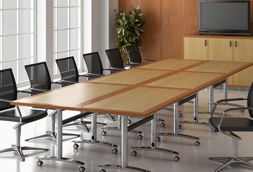 Tula Tables - Flip Top Tables - Meeting Tables