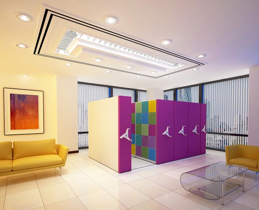Steel Storage - Office Storage - Storewall - Storage Wall - Mobile Storage - Lockers