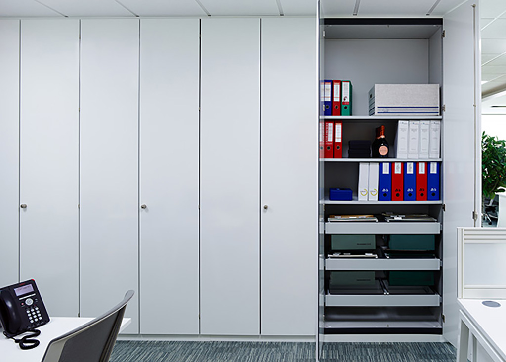 storage wall storewall office storage solutions