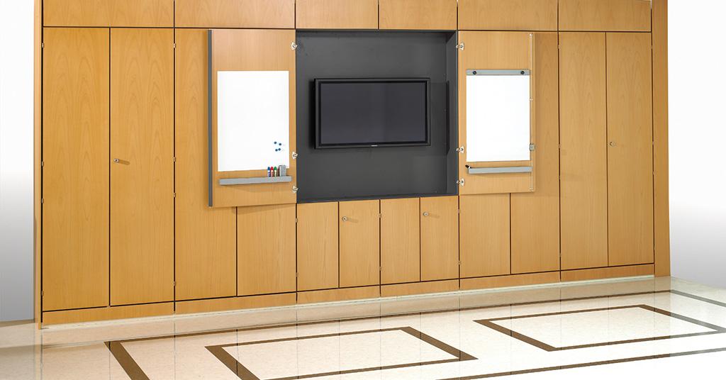 Wood Storage - Office Storage - Storewall - Storage Wall