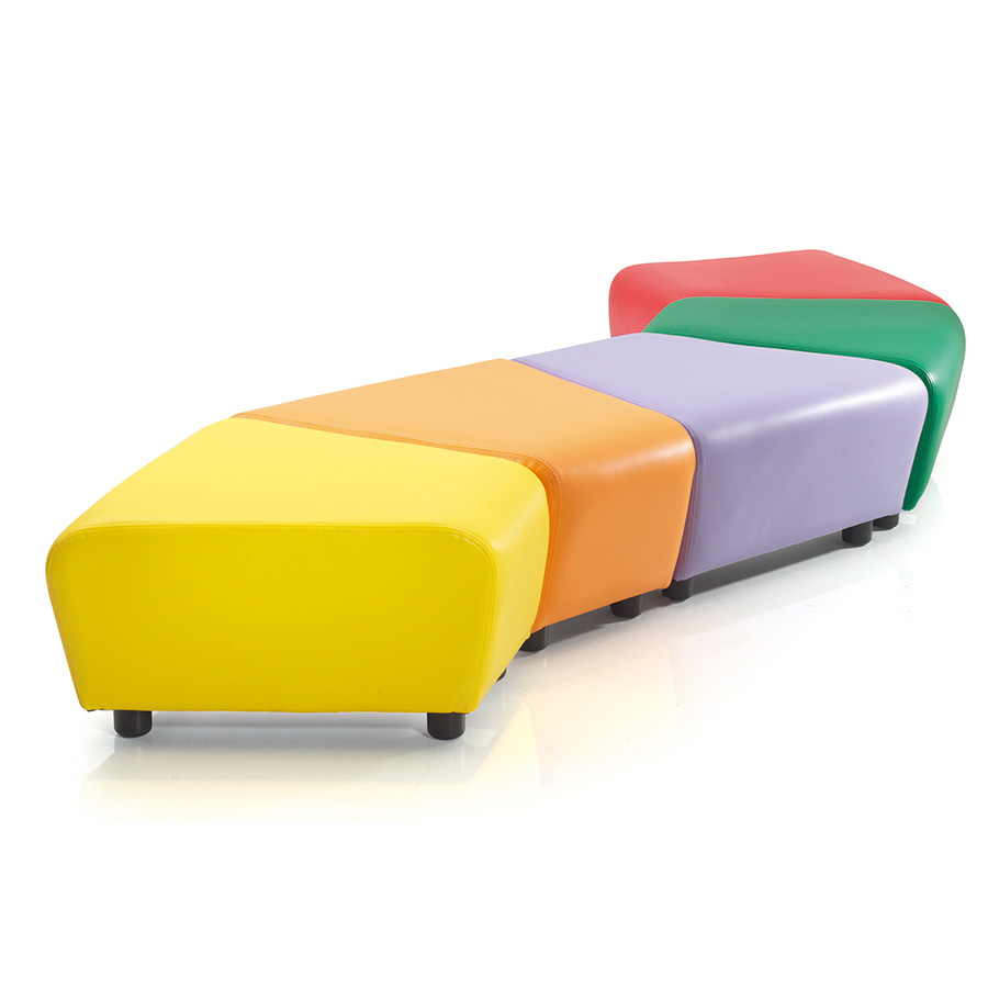 Zig Zag Seating - Breakout Furniture - Educational Furniture