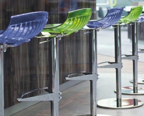 City stool blue