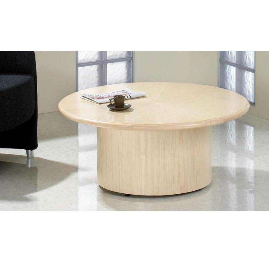Fulcrum Circular Cofee Table Reception Area Bevlan Office Interior
