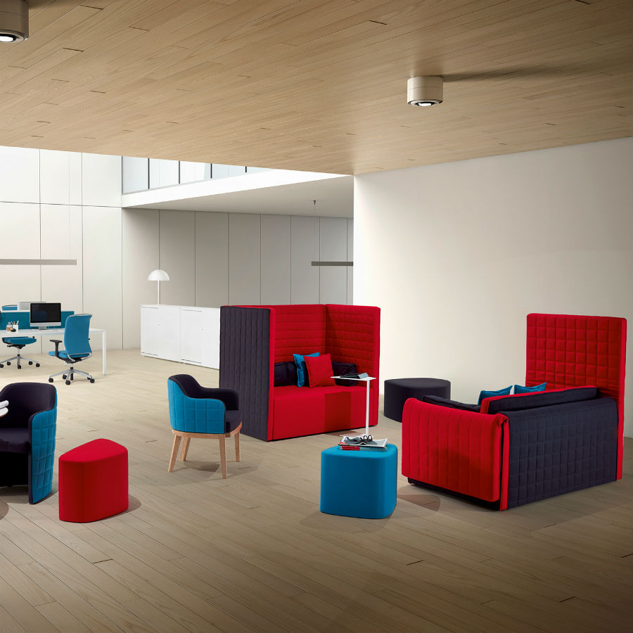 Marea Seating - Breakout Seating - Seating Booths - Breakout Furniture