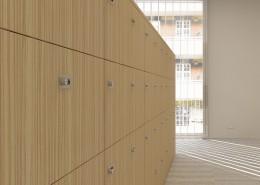 Storage Wall - Wood Storage - Lockers