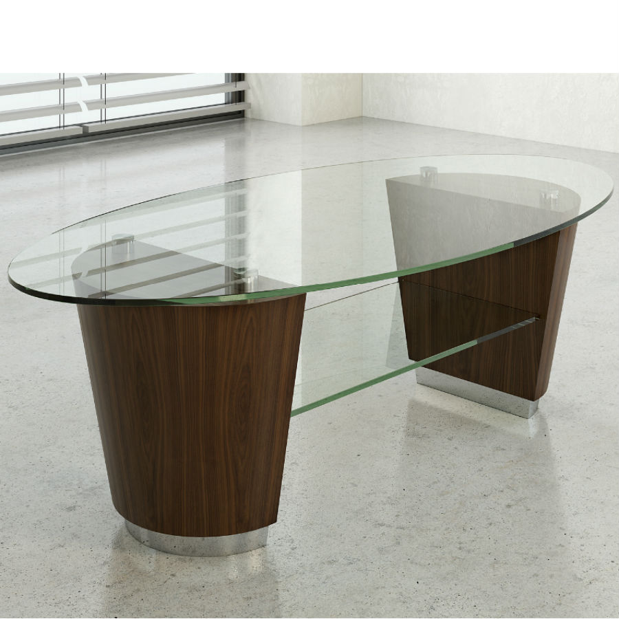 Mocha Coffee Table - Office Coffee Tables - Breakout Furniture