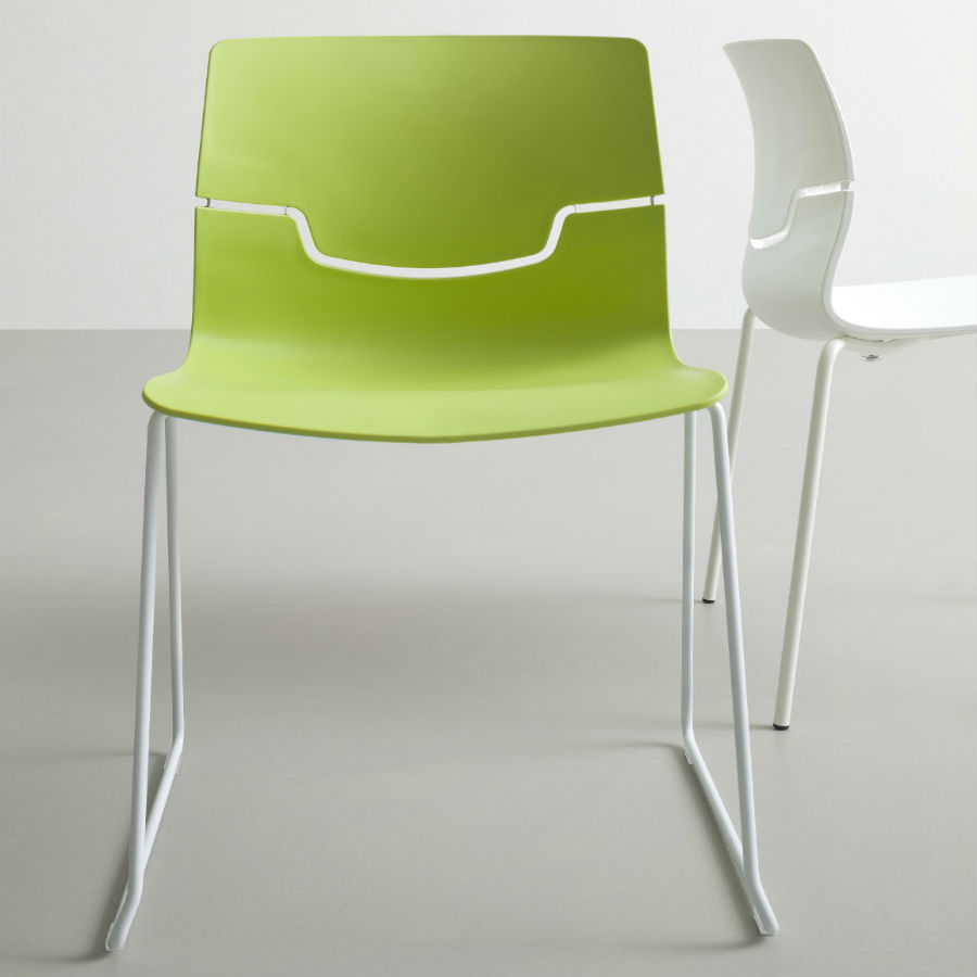Image of two breakout chairs