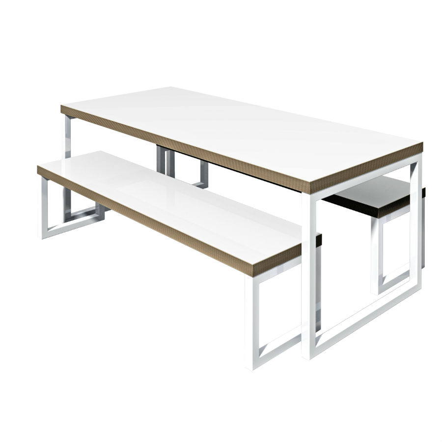 Wagamama bench - Bistro Tables - Breakout Furniture