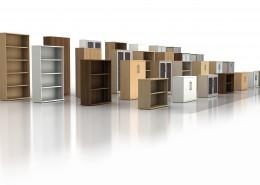 Storage Wall - Wood Storage