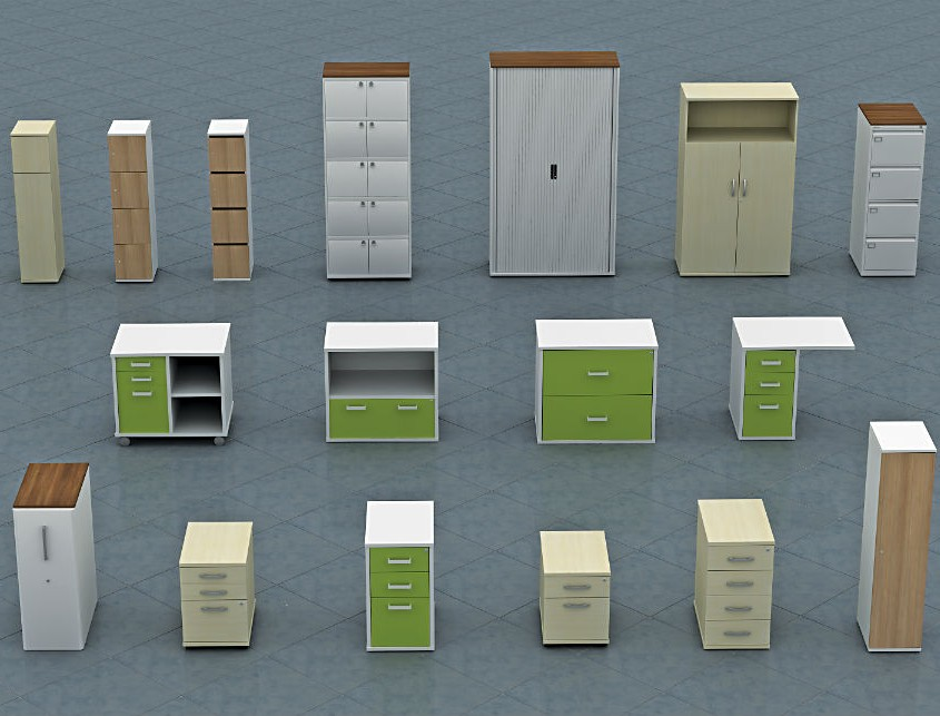 Mobili - Wood Storage - Office Storage