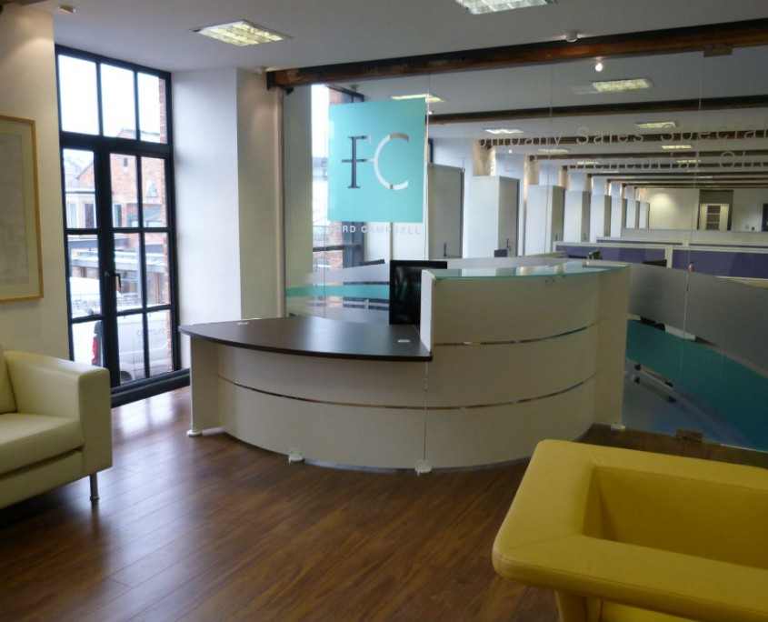 Reception Desks - Reception Furniture - Office Furniture Delivery & Installation