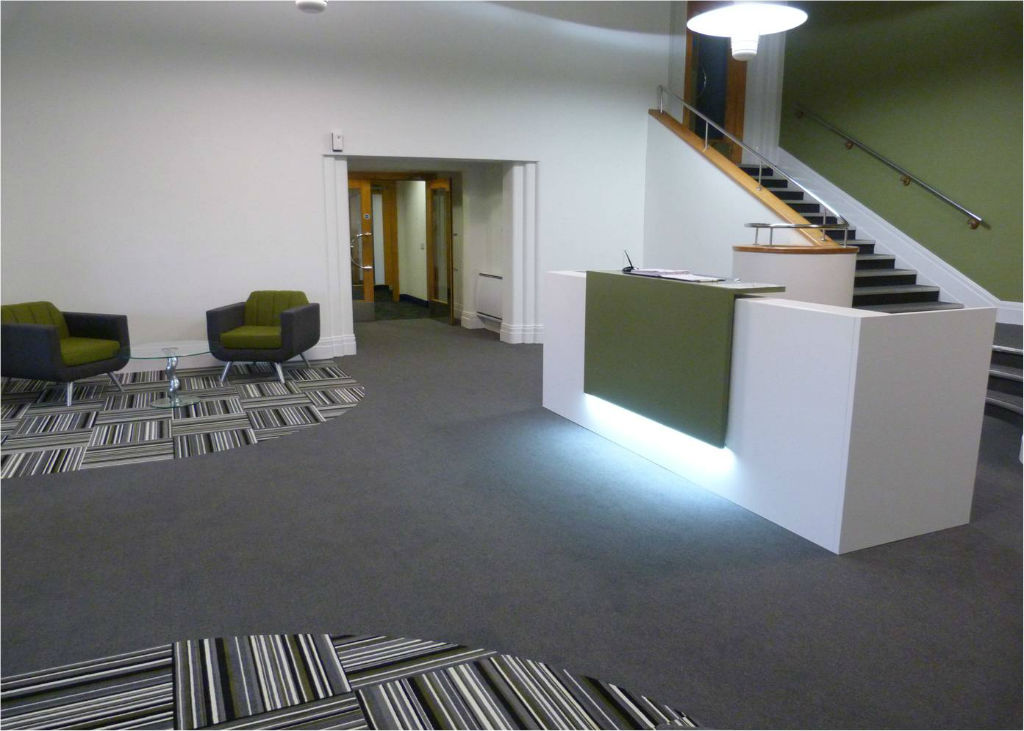 National Oilwell Varco - Office Furniture Manchester - Reception Furniture