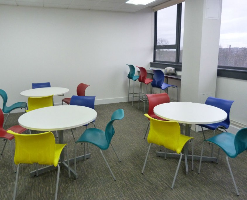 DTE Group - Office Furniture Manchester - Breakout Furniture