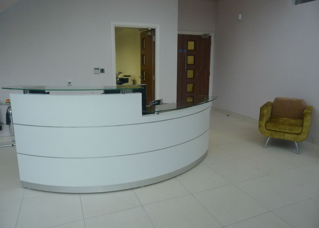 Reception Projects Bevlan Office Interiors